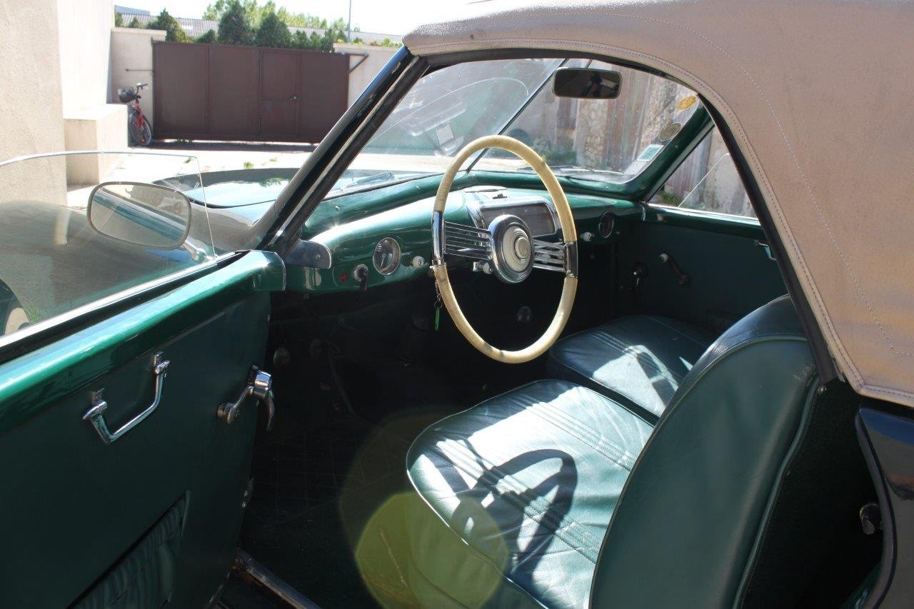 1950 Simca 8 Sport Cabriolet by Facel SOLD (picture 5 of 6)