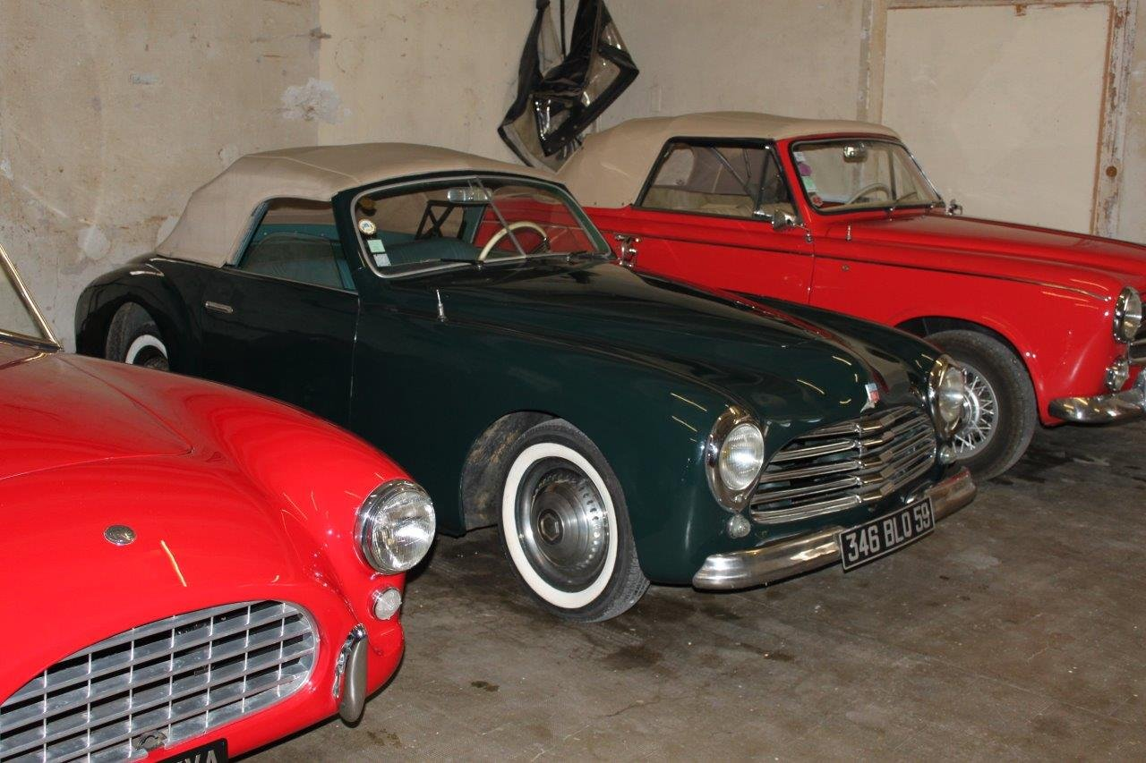 1950 Simca 8 Sport Cabriolet by Facel SOLD (picture 6 of 6)