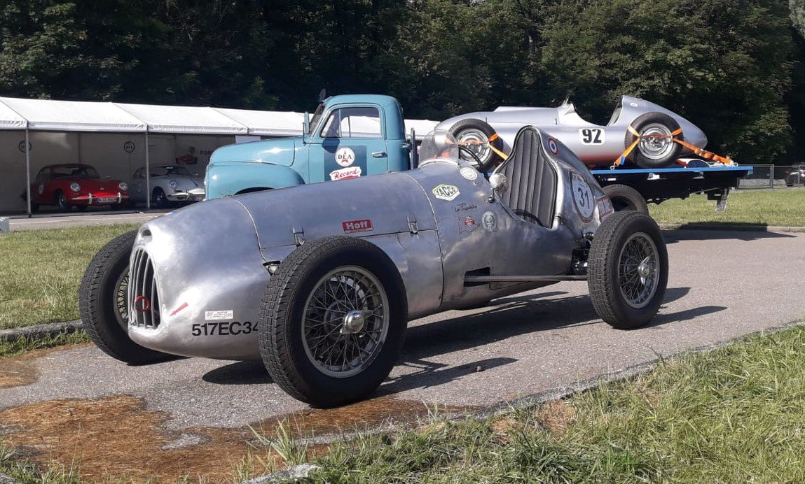 1939 Simca Monoposto race car voiture de course Rennwag SOLD (picture 5 of 5)