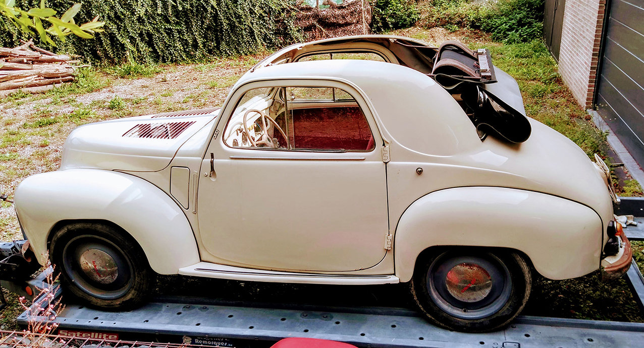 1949 Nice Simca 6 découvrable in good condition For Sale (picture 1 of 6)