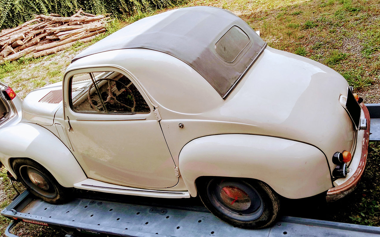 1949 Nice Simca 6 découvrable in good condition For Sale (picture 3 of 6)