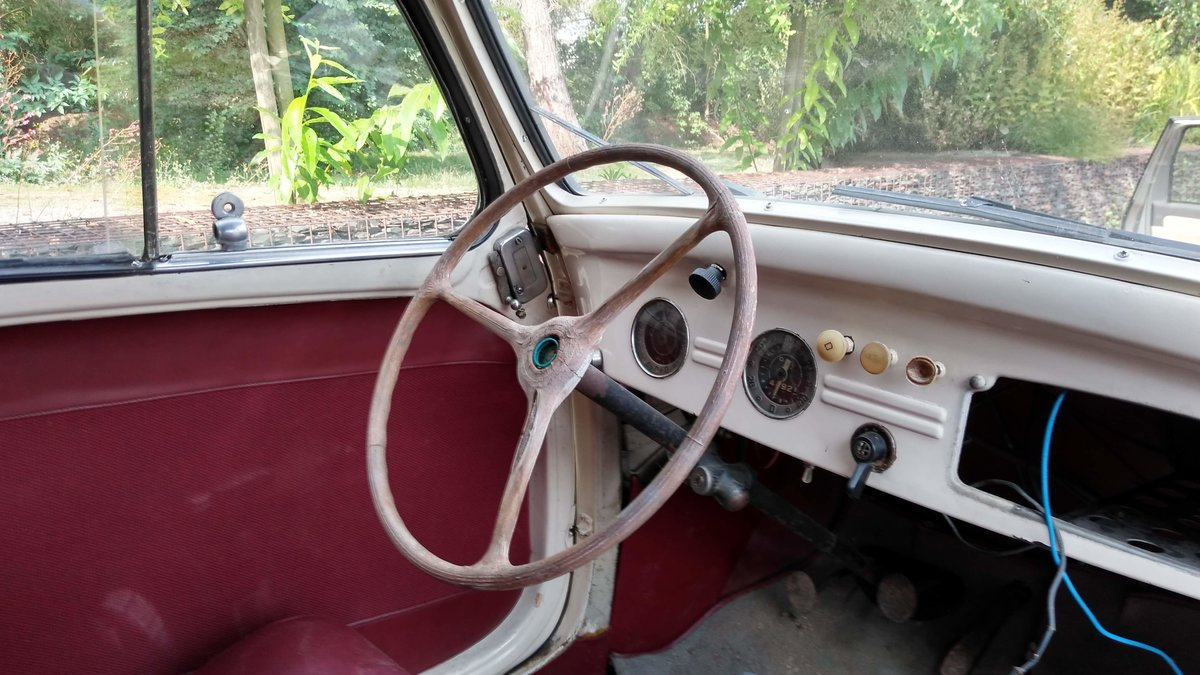 1949 Nice Simca 6 découvrable in good condition For Sale (picture 6 of 6)
