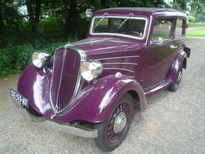 1937 Fiat Simca 6cv