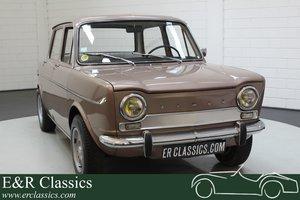 Simca 1000 GL Automatique 1966 Round rear lights