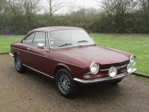 1966 Simca 1000 Bertone Coupe LHD at ACA 25th January