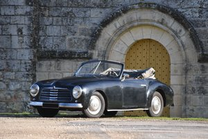 1951 SIMCA 8 Sport Cabriolet No reserve For Sale by Auction