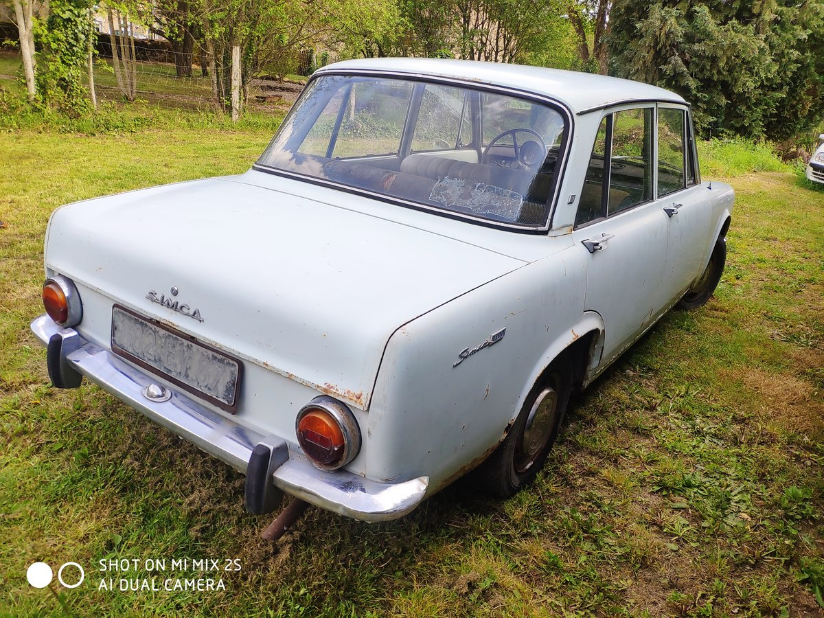 1964 Simca Talbot 1300 GL Original French Classic  For Sale (picture 3 of 6)