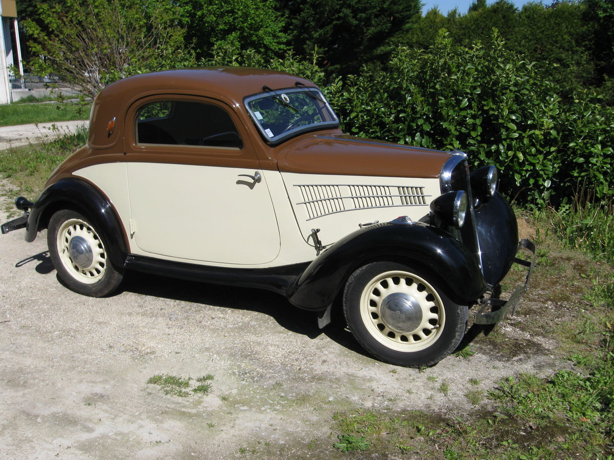 1936 Simca Fiat 6 CV For Sale (picture 1 of 2)