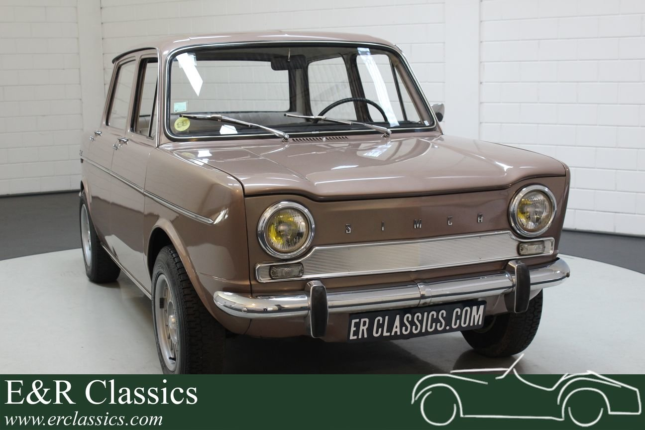 Simca 1000 GL Automatique 1966 Round rear lights For Sale (picture 1 of 6)