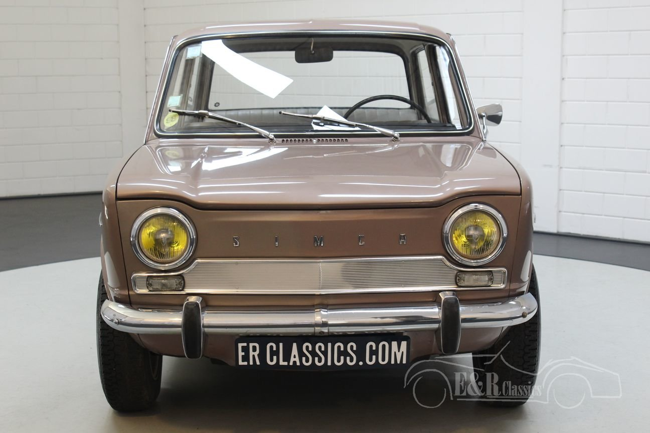 Simca 1000 GL Automatique 1966 Round rear lights For Sale (picture 4 of 6)