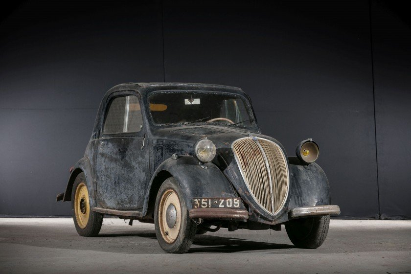 1939 Simca 5 découvrable - No reserve For Sale by Auction (picture 1 of 6)