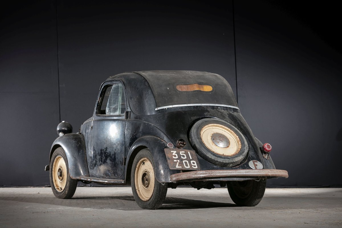 1939 Simca 5 découvrable - No reserve For Sale by Auction (picture 3 of 6)