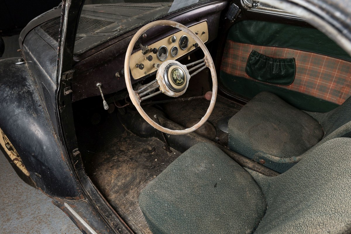 1939 Simca 5 découvrable - No reserve For Sale by Auction (picture 5 of 6)