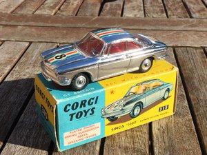 Corgi model simca 1000 competition car