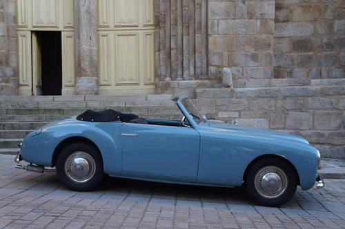1950 Ultra rare Simca 8 Sport Cabriolet by Facel-Metallon For Sale (picture 2 of 6)