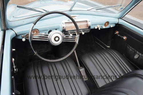 1950 Ultra rare Simca 8 Sport Cabriolet by Facel-Metallon For Sale (picture 3 of 6)