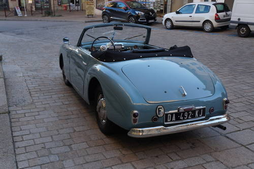 1950 Ultra rare Simca 8 Sport Cabriolet by Facel-Metallon For Sale (picture 6 of 6)