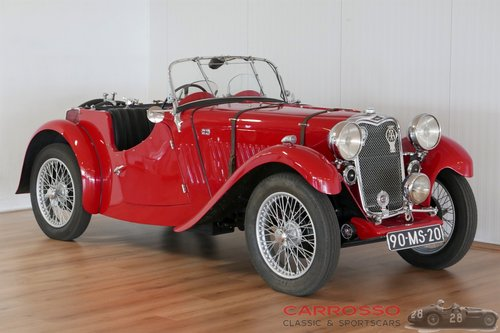 1934 Singer Le Mans 9HP Sports in perfect condition For Sale (picture 1 of 6)