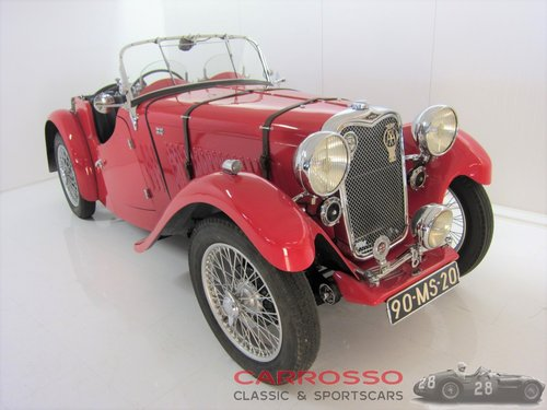 1934 Singer Le Mans 9HP Sports in perfect condition For Sale (picture 2 of 6)