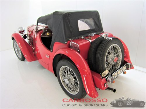 1934 Singer Le Mans 9HP Sports in perfect condition For Sale (picture 3 of 6)