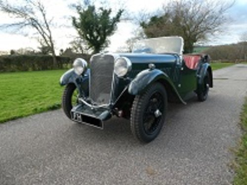 1933 Singer Nine Sports SOLD (picture 4 of 6)