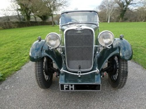 1933 Singer Nine Sports SOLD (picture 5 of 6)