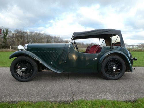 1933 Singer Nine Sports SOLD (picture 6 of 6)