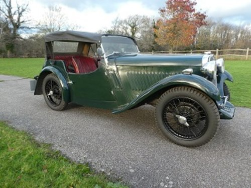 1933 Singer Nine Sports SOLD (picture 2 of 6)