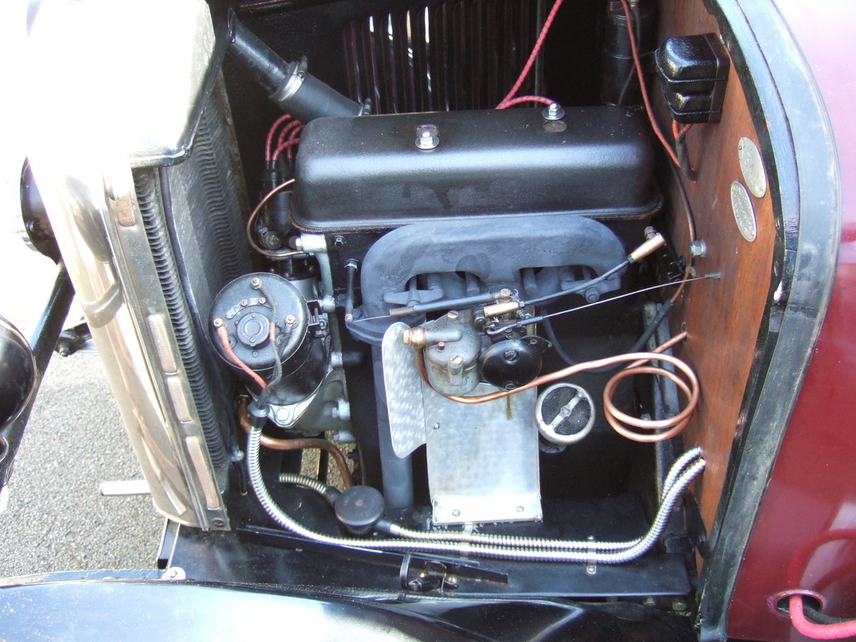 1930 SINGER JUNIOR 2 SEATER WITH DICKIE   SOLD (picture 3 of 5)
