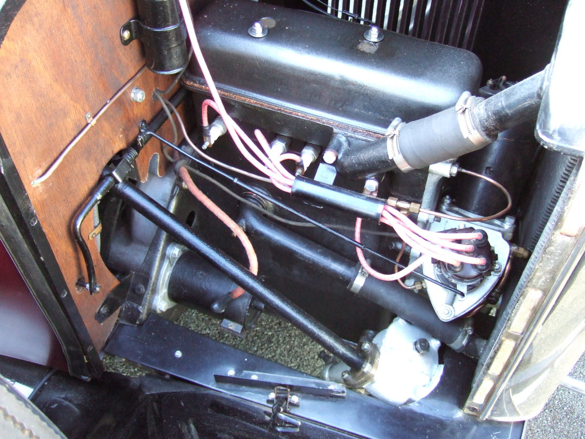 1930 SINGER JUNIOR 2 SEATER WITH DICKIE   SOLD (picture 5 of 5)