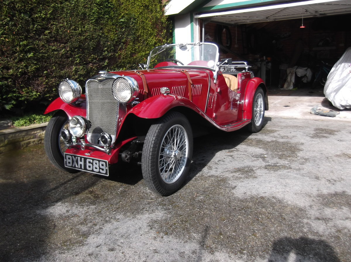 1935 Singer lemans special speed For Sale (picture 1 of 5)
