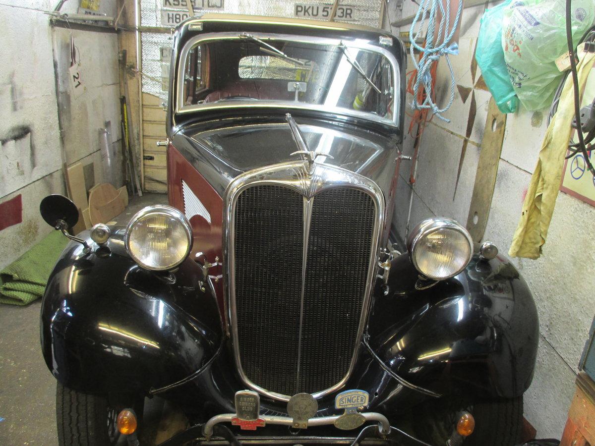 1936 Singer Bantam de-luxe  For Sale (picture 4 of 5)