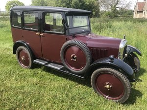 1929 Singer 9 Junior Saloon for sale by auction June 15th For Sale by Auction