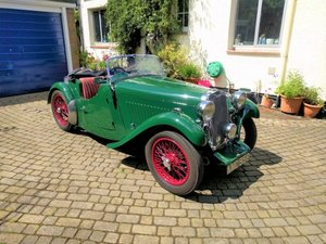 1934 Singer Le Mans For Sale by Auction