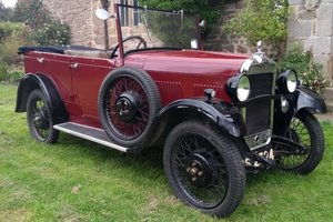 1930 SInger Junior Tourer For Sale by Auction