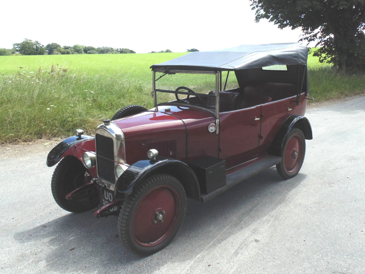1929 Singer Junior Four Seater Tourer For Sale (picture 1 of 6)