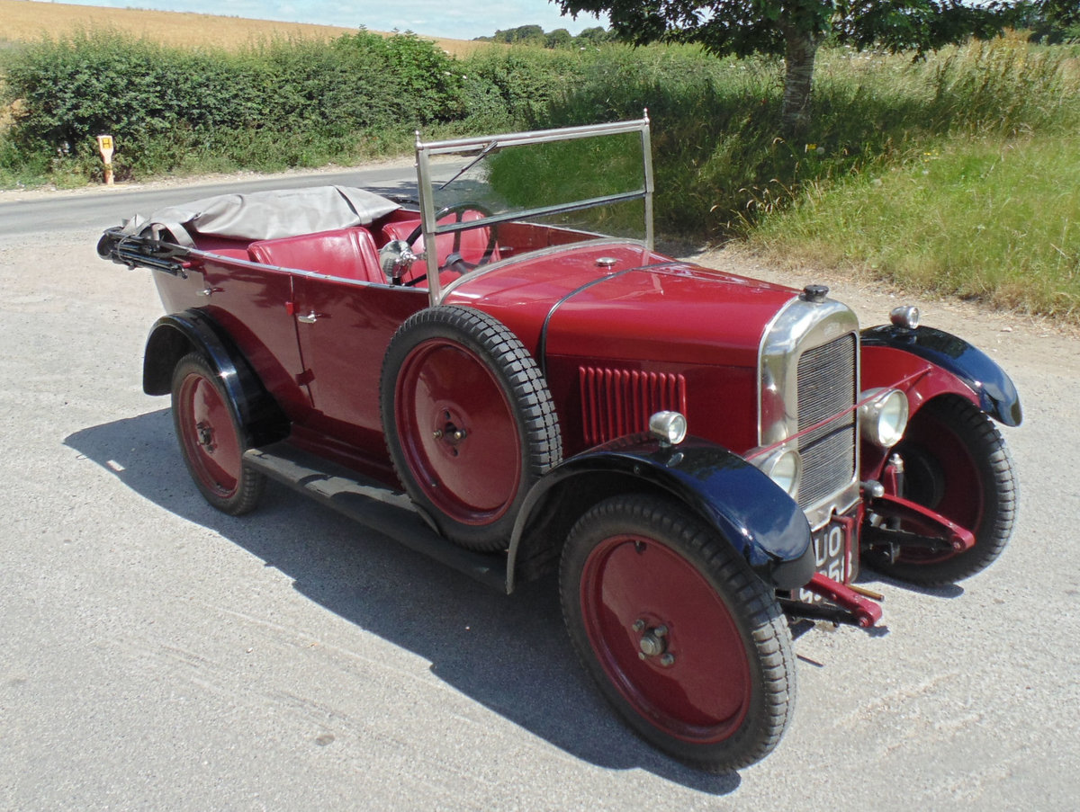 1929 Singer Junior Four Seater Tourer For Sale (picture 2 of 6)
