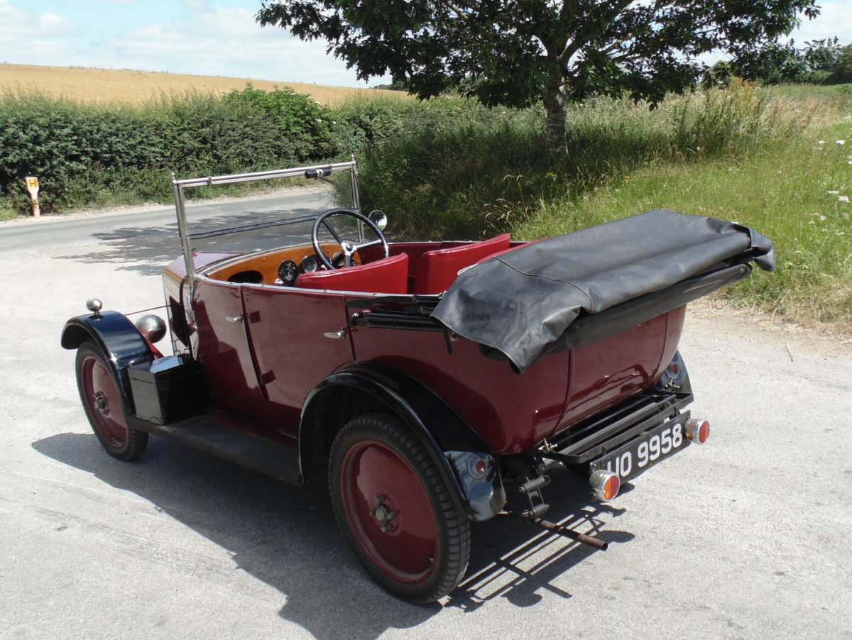1929 Singer Junior Four Seater Tourer For Sale (picture 3 of 6)