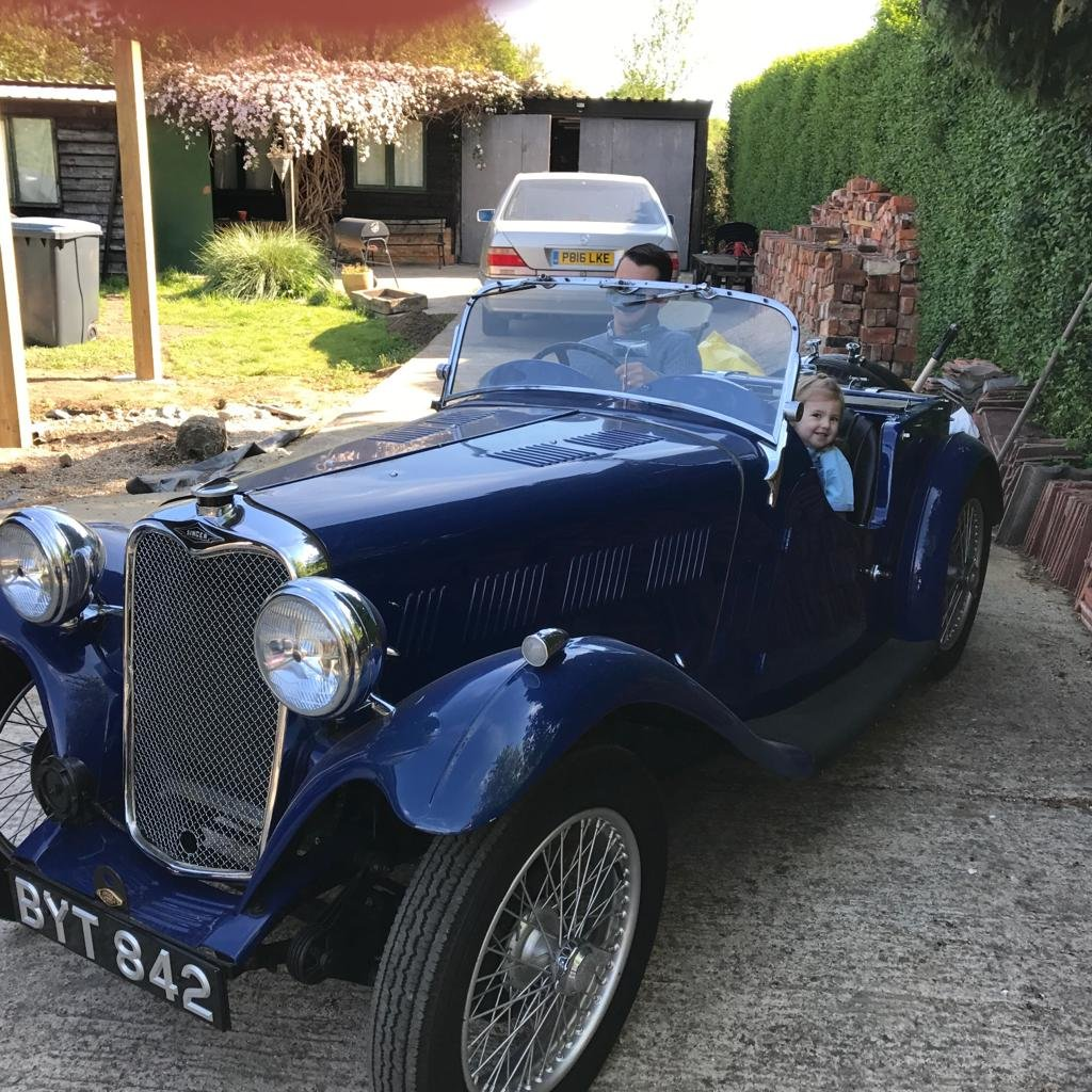 1935 Singer 9 Le Mans Excellent  For Sale (picture 1 of 1)