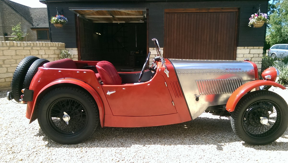 1934 Singer 9 Sports 4 seater For Sale (picture 1 of 6)