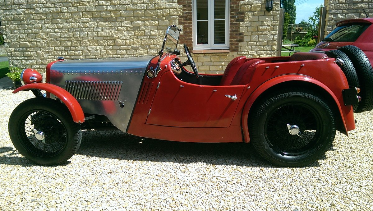 1934 Singer 9 Sports 4 seater For Sale (picture 2 of 6)