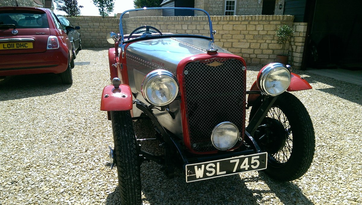1934 Singer 9 Sports 4 seater For Sale (picture 4 of 6)