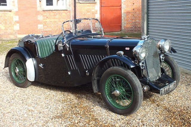 1934 A super English sports car with a Brooklands history  For Sale (picture 1 of 6)