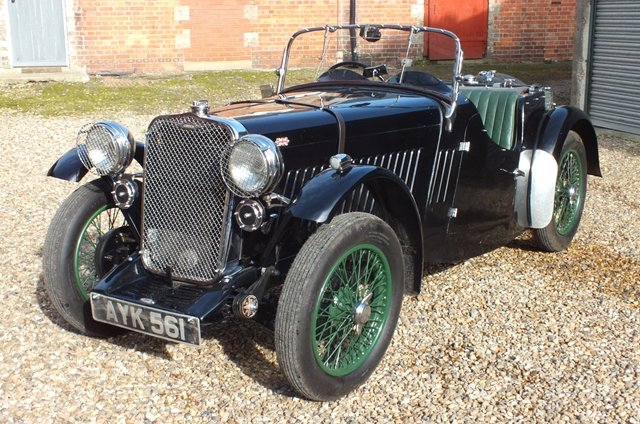 1934 A super English sports car with a Brooklands history  For Sale (picture 2 of 6)