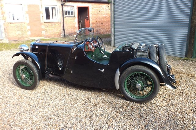 1934 A super English sports car with a Brooklands history  For Sale (picture 4 of 6)