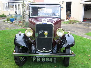 1932 Singer Nine saloon For Sale