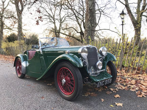 1934 Singer Le Mans - rebuilt condition For Sale