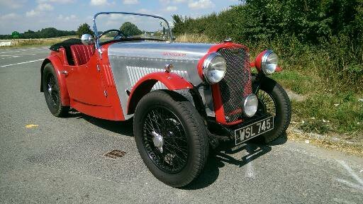 1934 Singer 9 Sports 4 seater SOLD (picture 2 of 6)