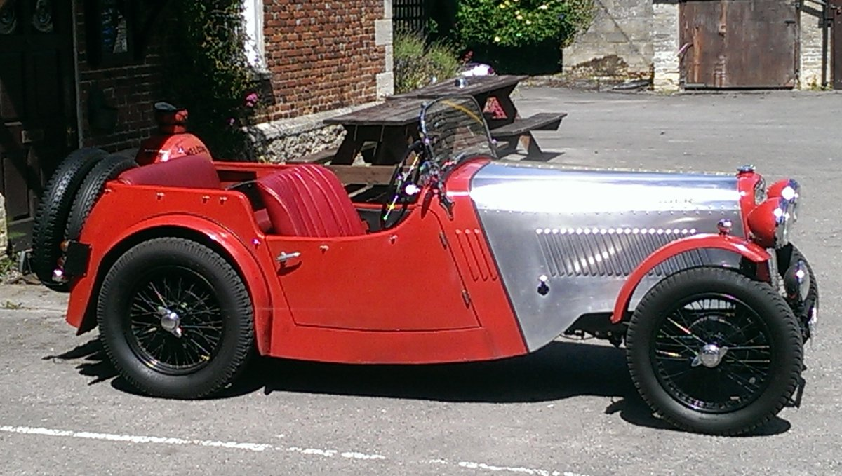 1934 Singer 9 Sports 4 seater SOLD (picture 5 of 6)
