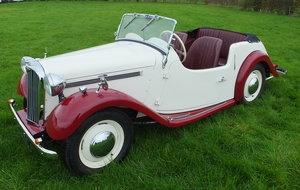 1954 Singer 4AD Roadster